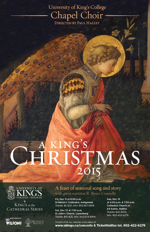 A King\'s Christmas - Lunenburg Tickets | St. John\'s Anglican Church ...